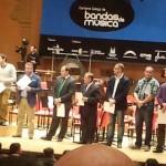 VII Certame Galego de Bandas - Entrega de premios
